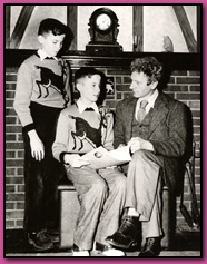 Richard and John Contiguglia with Percy Grainger
